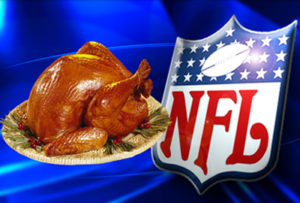 Enjoy some turkey and bet on the NFL on Thanksgiving Day!