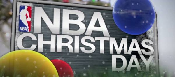 The NBA is the only sport in action on Christmas Day!