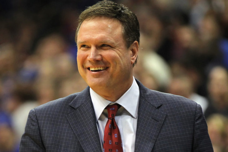 Bill Self looks to lead the Kansas Jayhawks to the top of March Madness in 2017.