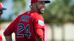 David Price With the Boston Red Sox