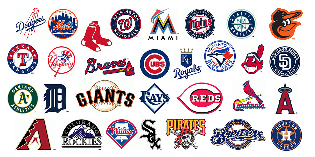 MLB Team Links for 2019