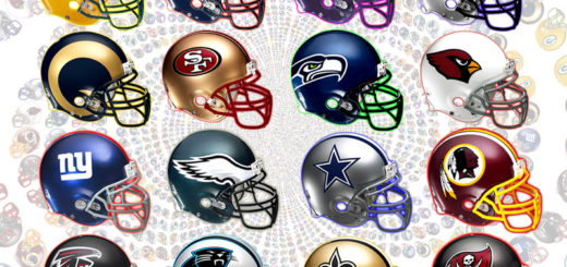 football logos in the NFC