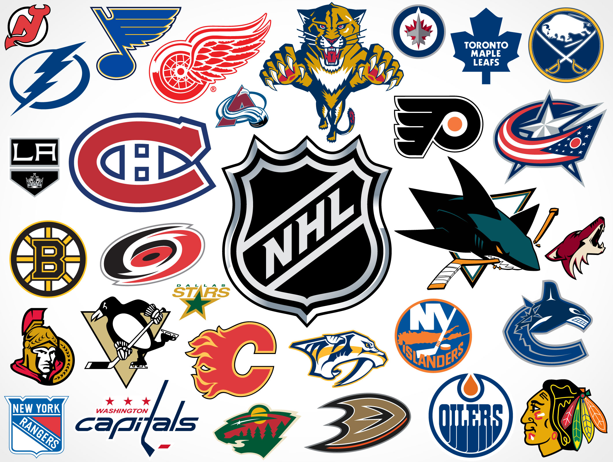 NHL Team Links