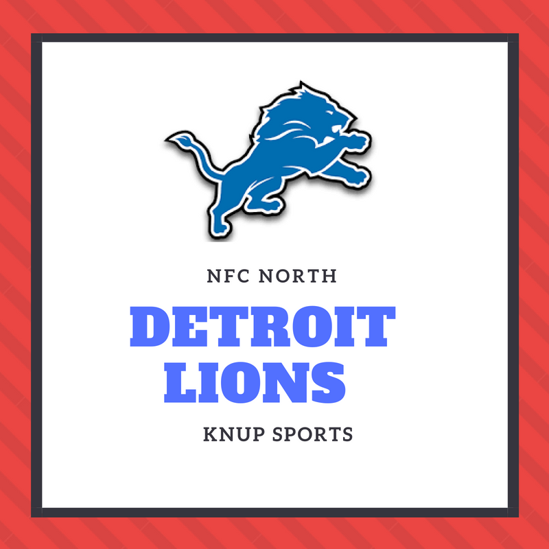 NFL Team Preview- Detroit Lions