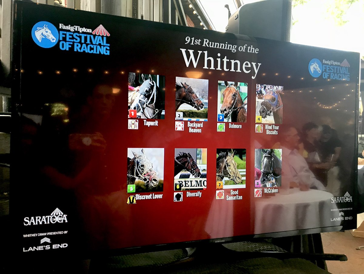 Whitney Stakes Odds, Picks, and Predictions