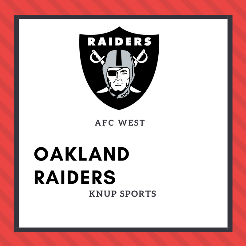 NFL Team Preview- Oakland Raiders