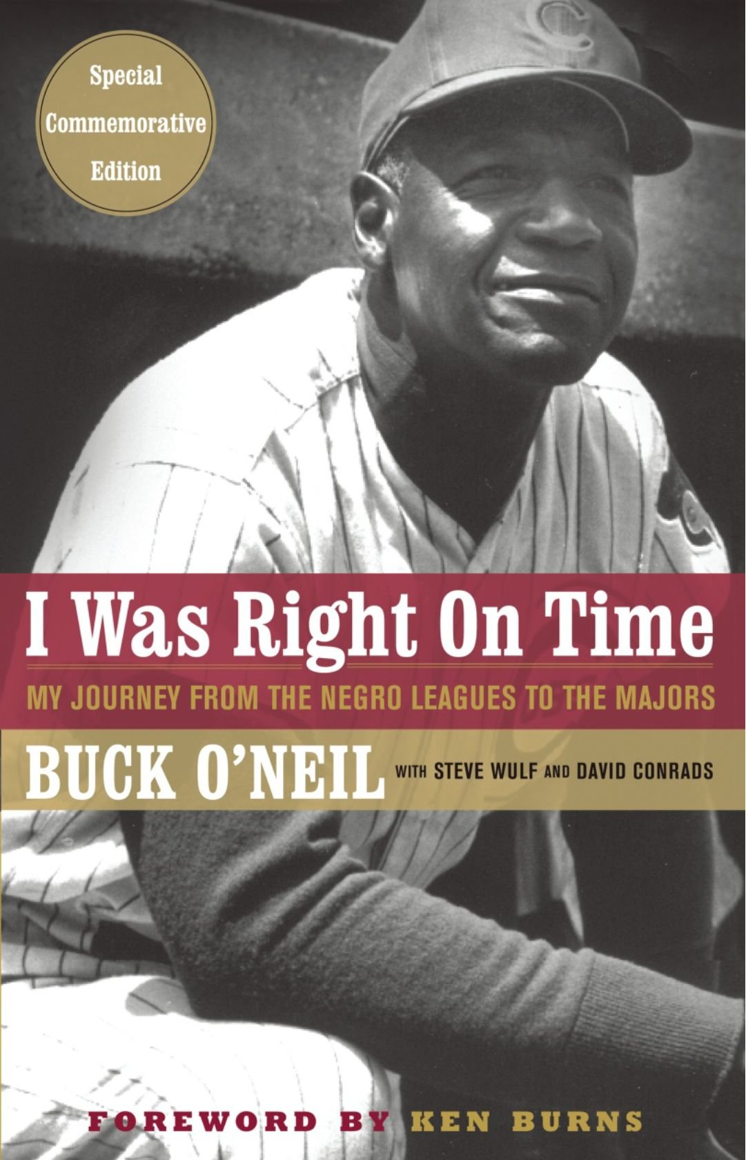 """I Was Right on Time: My Journey from the Negro Leagues to the Majors"""