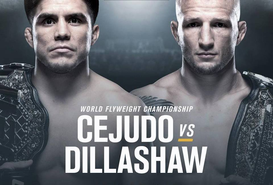 UFC Fight Night 143- Cejudo vs Dillashaw -1/19/19