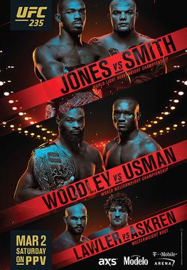 UFC 235- Jones vs Smith- Odds, Picks, and Predictions