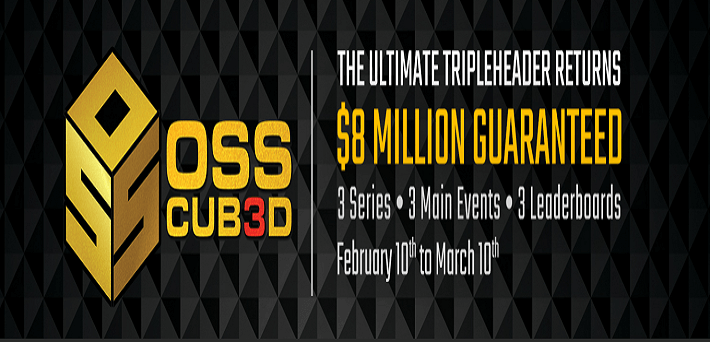 OSS Cub3d series at Americas Cardroom to award $8 million in guarantees