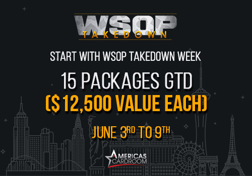 Americas Cardroom Can Send You To The WSOP Main Event