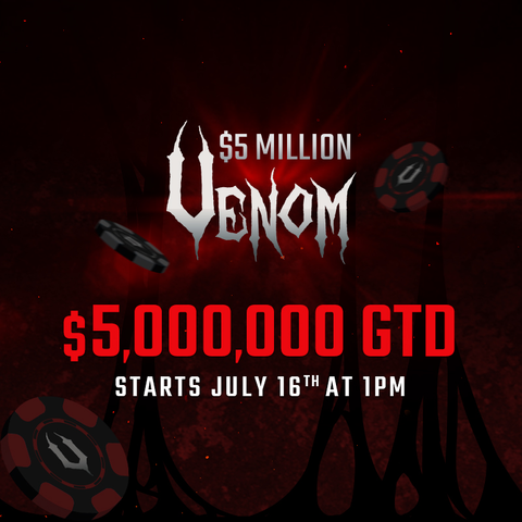 Step your way to a free $5 Million Venom Seat at Americas Cardroom