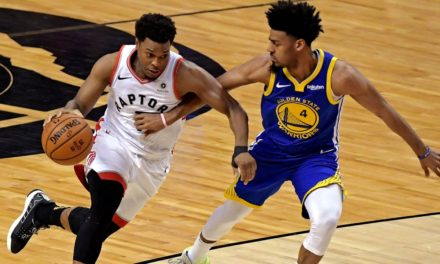 Raptors Take Care of Business, Take NBA Finals Lead