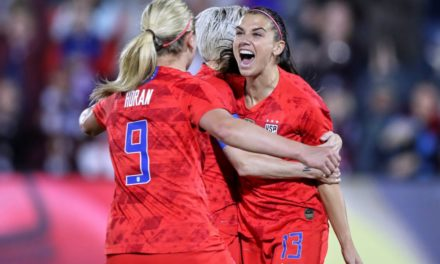 U.S. Women Dominate In World Cup Opener