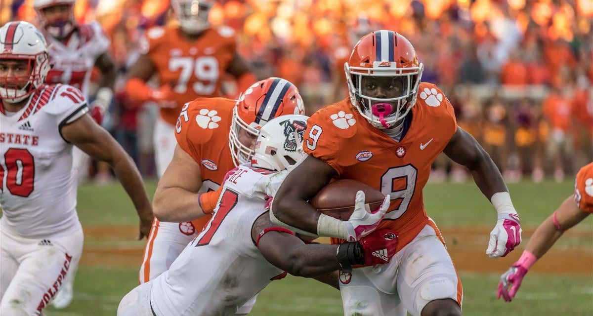 ACC Title Game Betting Preview: Clemson Tigers vs. Virginia Cavaliers