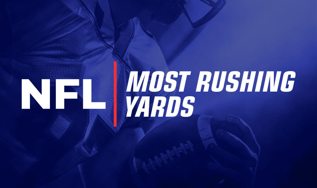 NFL Most Rushing Yards Odds