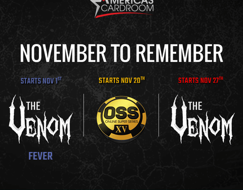 The $6 Million Venom and $12 Million OSS on Americas Cardroom are right around the corner