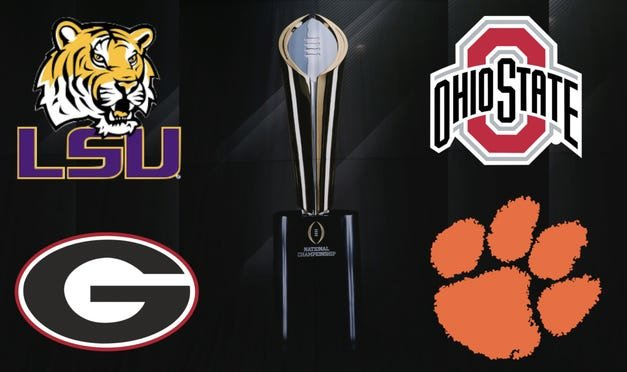 2019 College Football Playoff Betting Preview