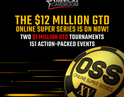 Time is running out to play in Americas Cardroom's $12 Million Online Super Series