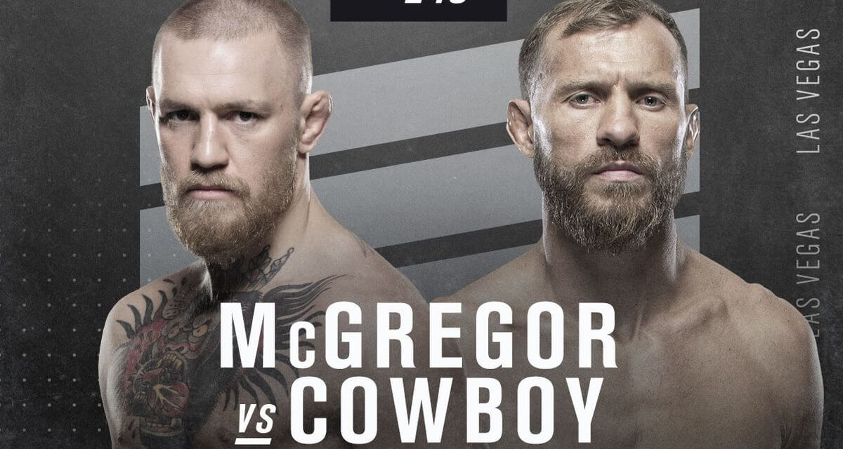 UFC 246 Betting – McGregor/Cerrone