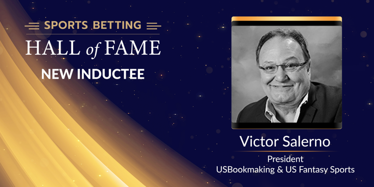 Sports Betting Hall of Fame Set to Add Victor Salerno