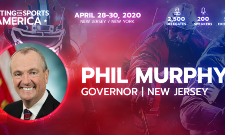 Governor of New Jersey Phil Murphy Set for Betting on Sports America 2020 keynote address
