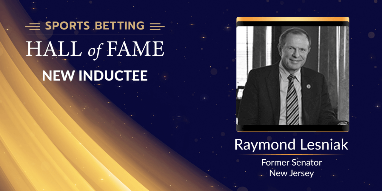Raymond Lesniak – Former New Jersey Senator Set to Join Sports Betting Hall of Fame