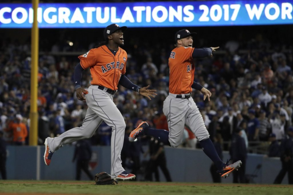 Houston Astros 2017 Champs but Cheated