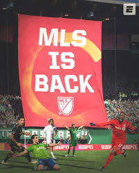 Major League Soccer Returns July 8th