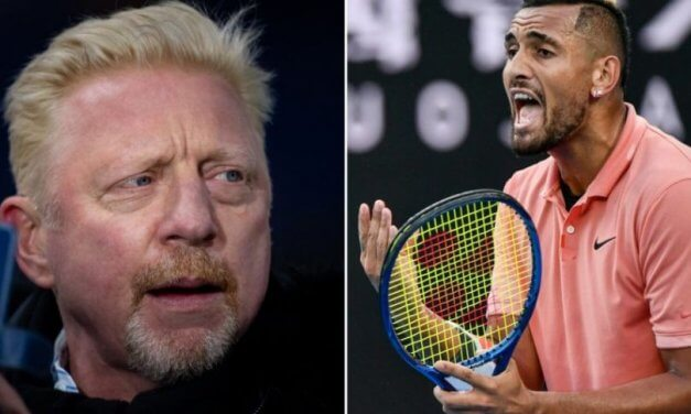 Tennis Stars Nick Kyrgios and Boris Becker Feud on Twitter