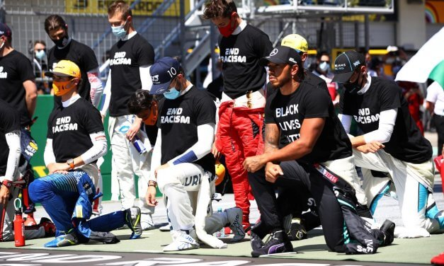 Lewis Hamilton, Formula One Drivers Take Knee in Support of Black Lives Matter