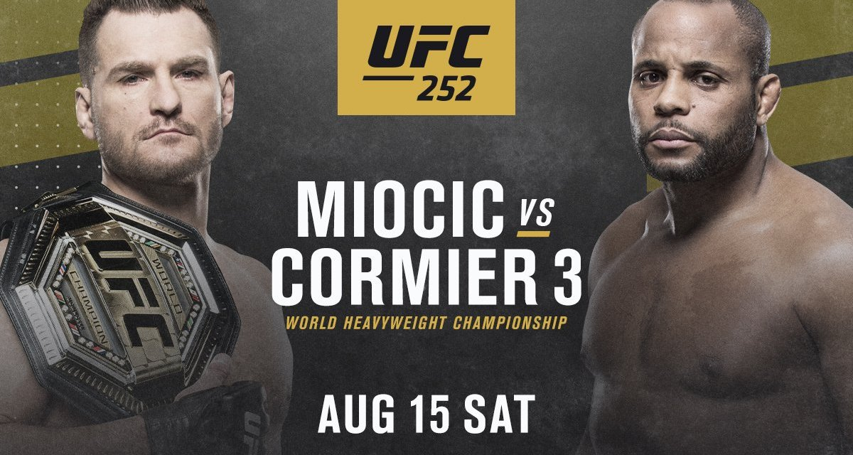 UFC Fight- Miocic v Cormier 3 Preview/Prediction
