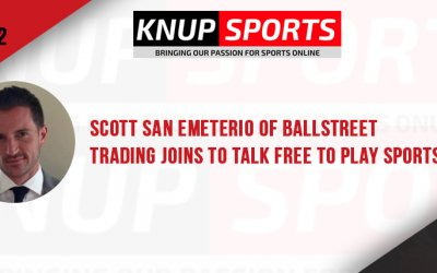 Show #102 – Scott San Emeterio of BallStreet Trading Joins to Talk Free to Play Sports Market Games