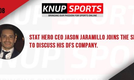 Show #108 – Stat Hero CEO Jason Jaramillo joins the show to discuss his DFS company.
