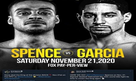 Boxing – Erroll Spence, Jr.  vs Danny Garcia