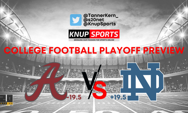 College Football Playoff Preview: #4 Notre Dame vs. #1 Alabama Betting Pick