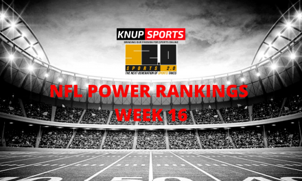 Sports 2.0 NFL Power Rankings Entering Week 16