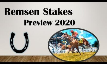 Remesen Stakes from Aqueduct