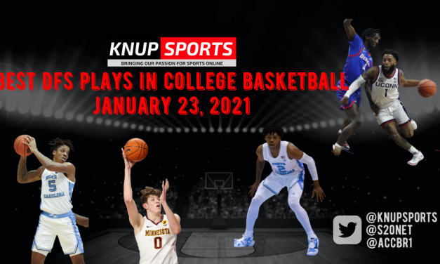 Best DFS Plays in College Basketball – Saturday, January 23, 2021