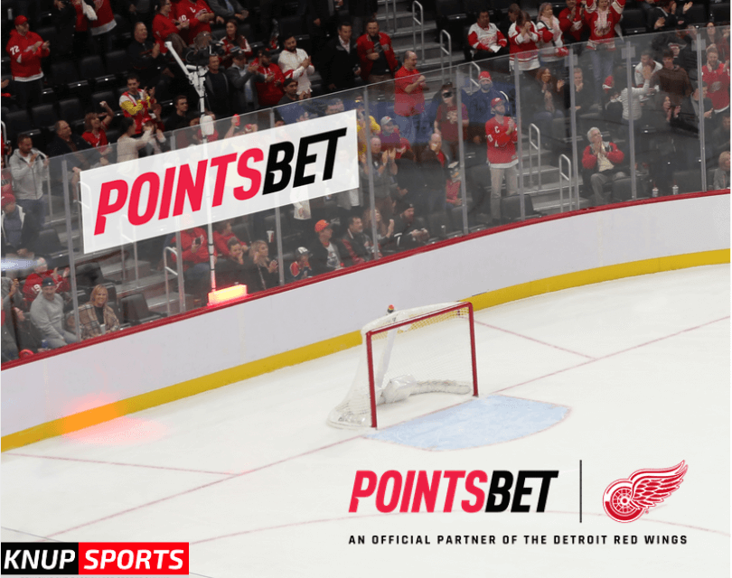 PointsBet Becomes Official Gaming Partner for the Detroit Red Wings and Little Caesars Arena