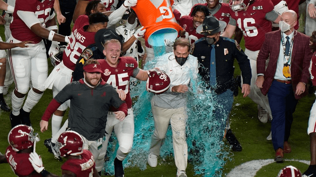 saban wins sixth
