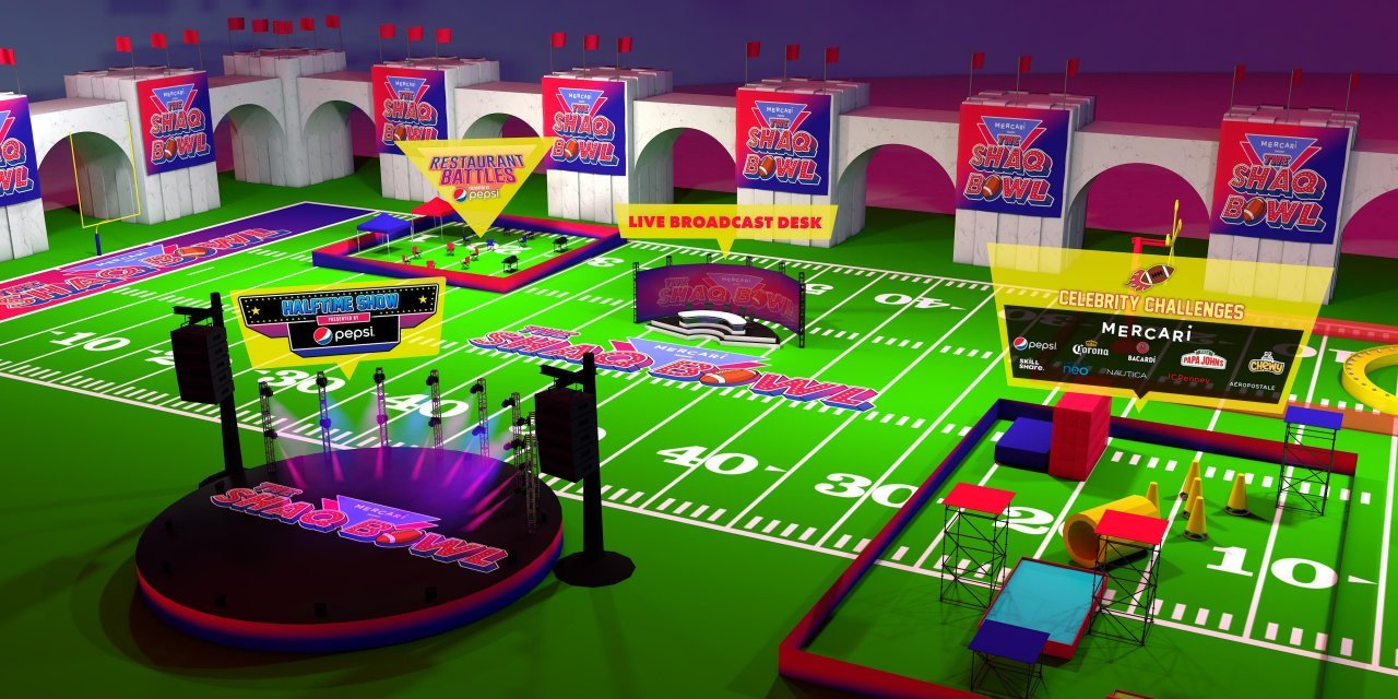 Mercari Presents the Shaq Super Bowl Party Set to Launch in Tampa