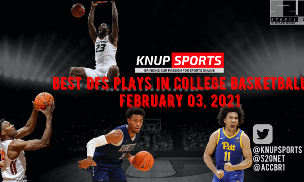 Best DFS Plays in College Basketball – Wednesday, February 03, 2021
