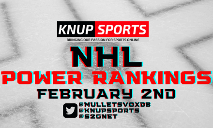 Knup Sports NHL Power Rankings 2021 Vol. #3: February 2nd