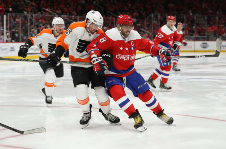 Flyers at Capitals Betting Pick & Preview
