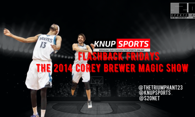 Flashback Friday: The 2014 Corey Brewer Magic Show