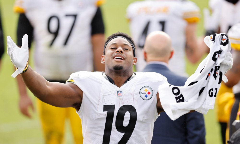 JuJu Smith-Schuster Takes Pay Cut
