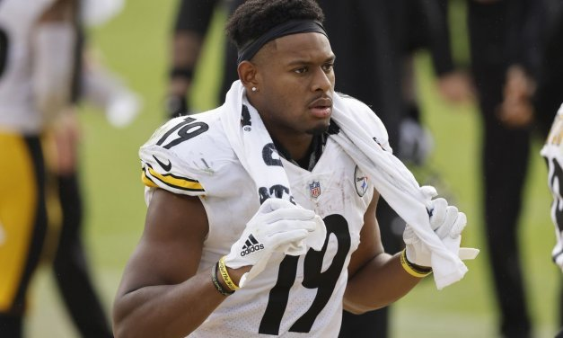 JuJu Smith-Schuster Takes Pay Cut to Stay With Steelers