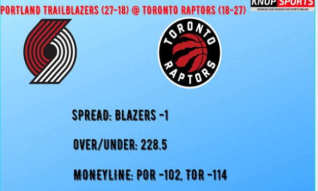Portland Trailblazers at Toronto Raptors Video and Betting Preview
