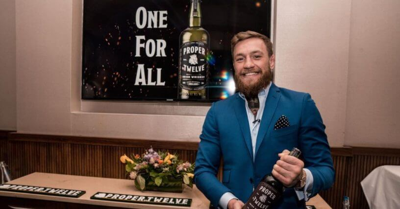 Connor McGregor Bought Out of Proper 12 Whisky